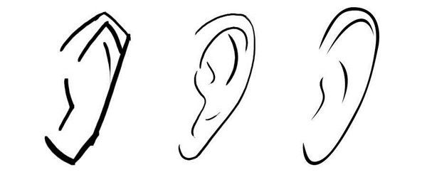 como aprender a dibujar orejas anime y manga 5   dibujo :3 ...