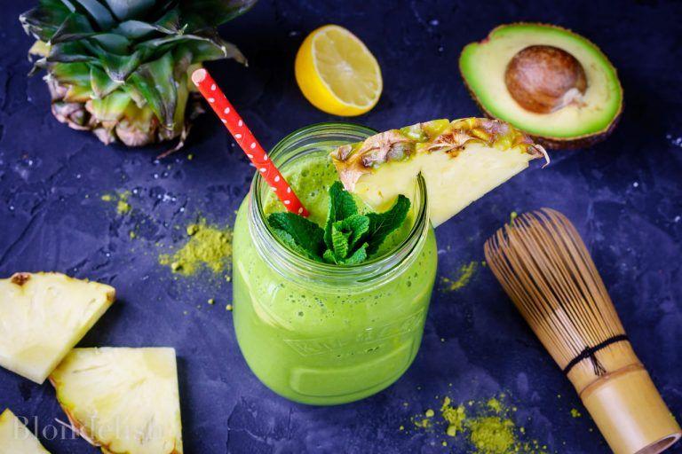 smoothie de slabit cu kiwi)