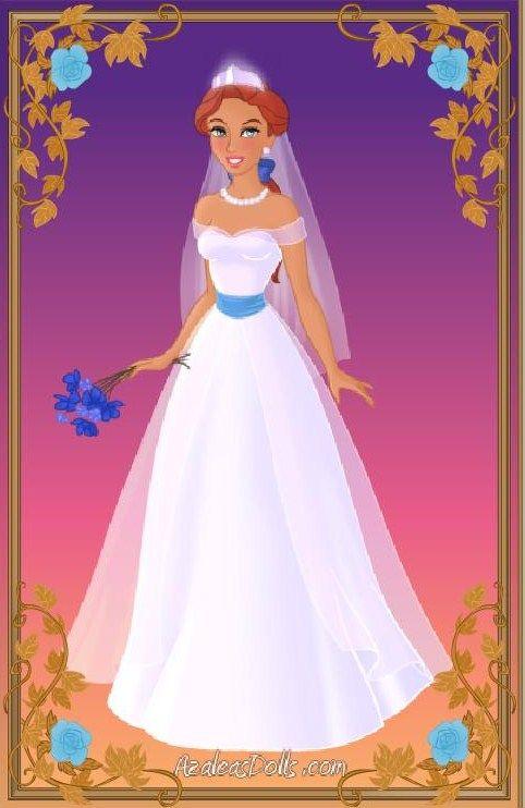 Anastasia Wedding Dress By Missindianagirl On Deviantart