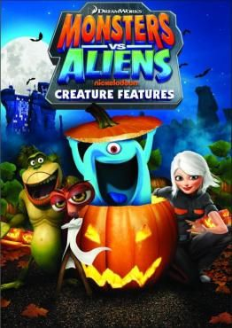 Monsters Vs Aliens Creature Features Monsters Vs Aliens