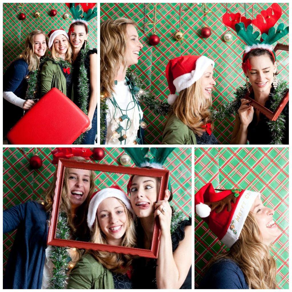 photobooth fun tacky christmas