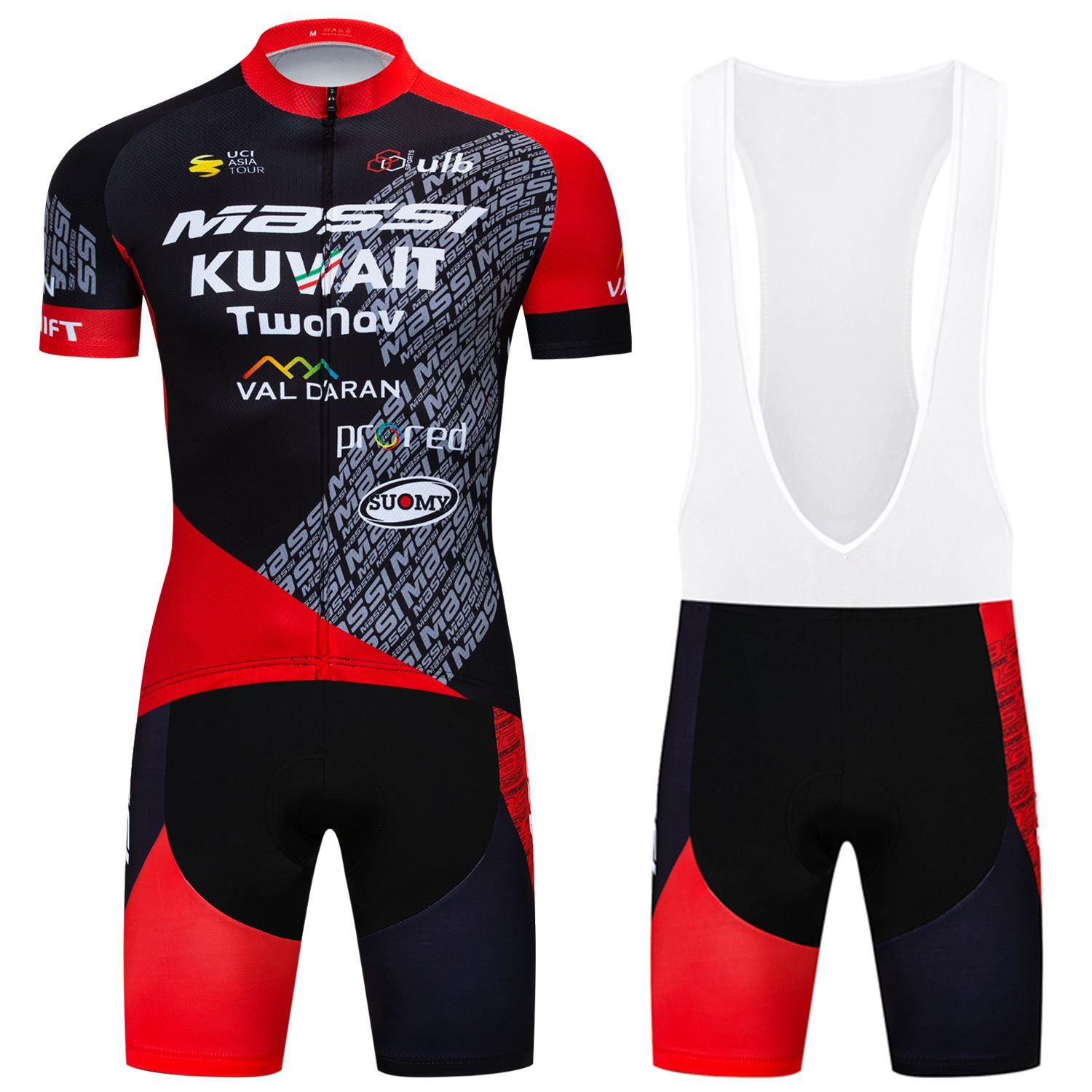 Road Bike Team Cycling Jersey And Bib Shorts Set Men s ride Padded Shorts  Suits 7573a9470