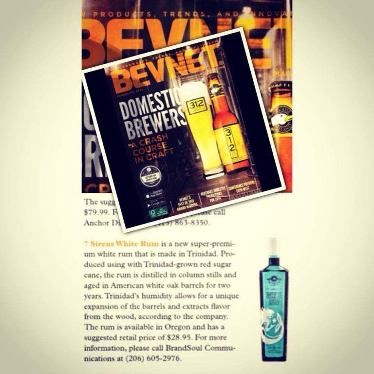 BevNET and 7 Sirens Rum