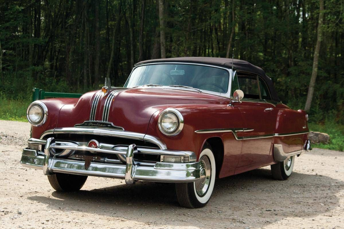 1953 Pontiac Chieftain | Old Rides 5 | Pinterest | 50s cars ...