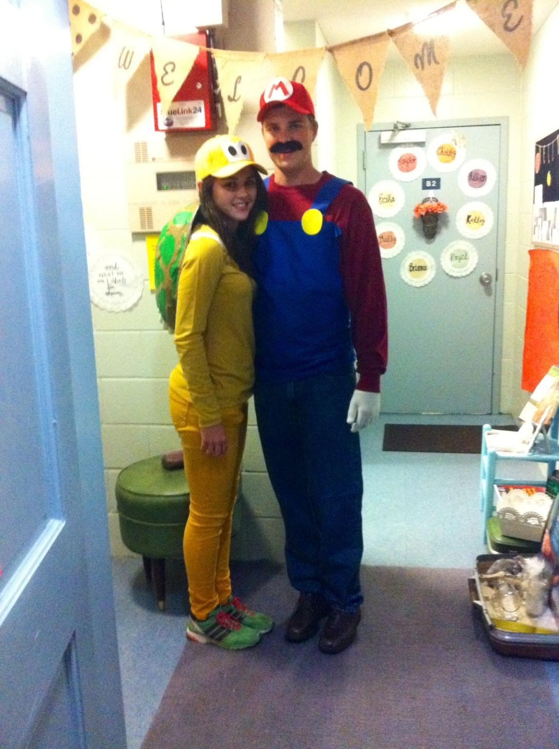 mario and koopa troopa halloween costume - Koopa Troopa Halloween Costume