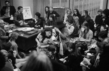 1970s: Feminist sit in at Ladies Home Journal