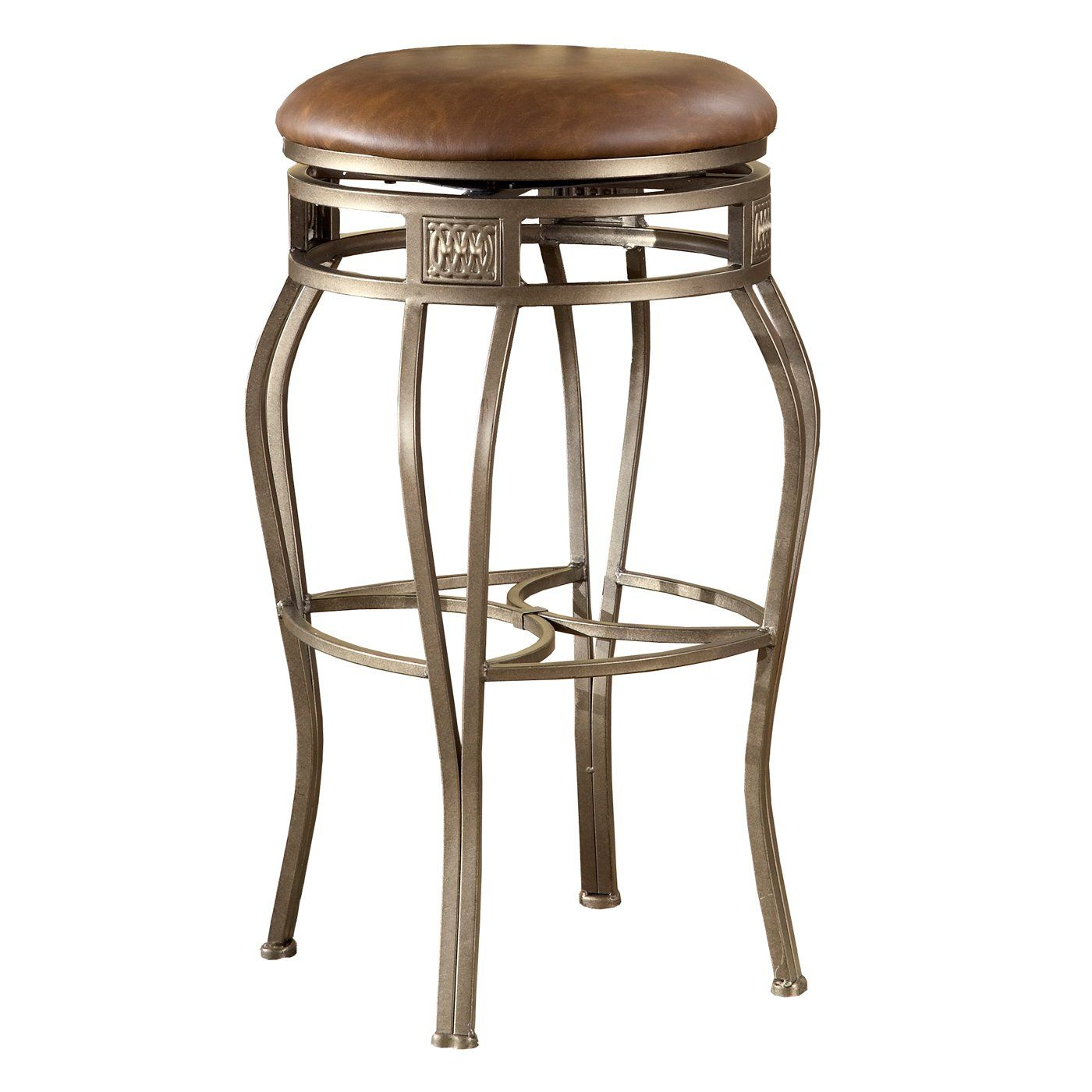 Hillsdale Furniture 4361-8 Montello Backless Swivel Bar