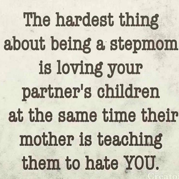 So true #stepmom #love #family #unity #momlife