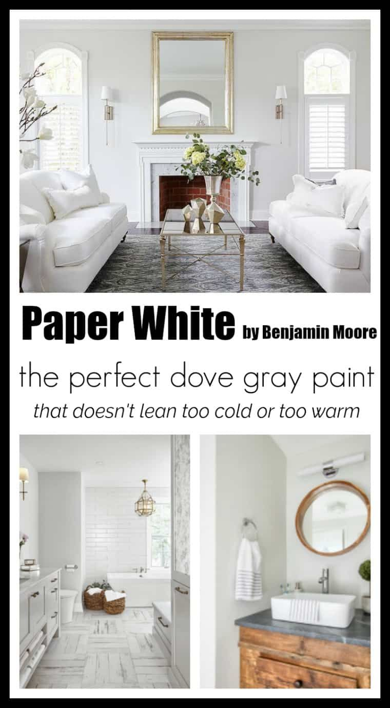 Paint colors paper white by benjamin moore home white - How cold is too cold to paint ...