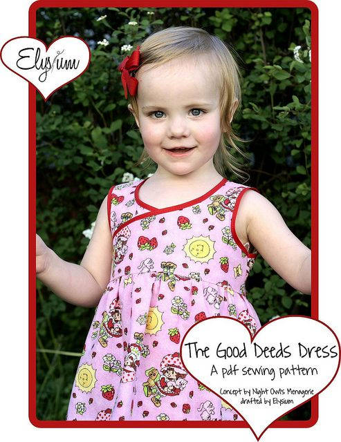 0fbb69c311a4 The Good Deeds Dress Pattern by My Sweet Elysium. Free Pattern for ...