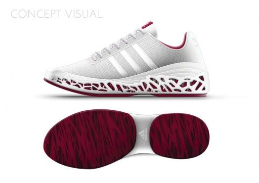 Spider Silk Inspired Adidas Concept by
