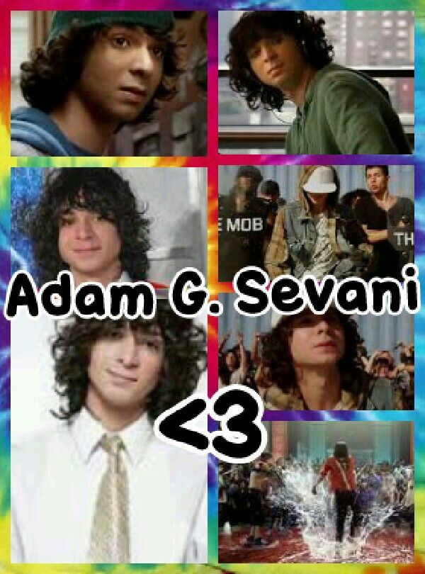 Adam G. Sevani!!! Made myself ^_^