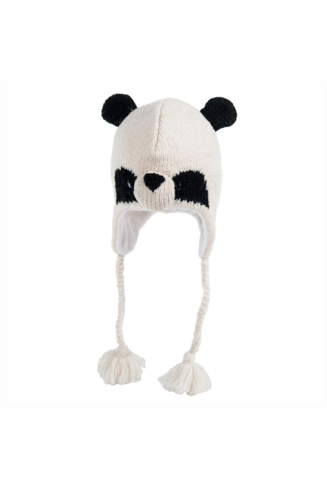 e7ca54d395e White and black panda hat. Wool with fleece lining. Toddler sizing. Panda  Bear Beanie by Nirvana Designs. Home   Gifts - Gifts - Gifts by Occasion -  Baby ...
