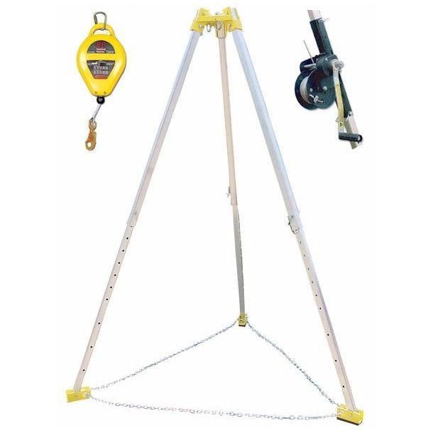 Frenchcreek Confined Space Entry Rescue Tripod System W