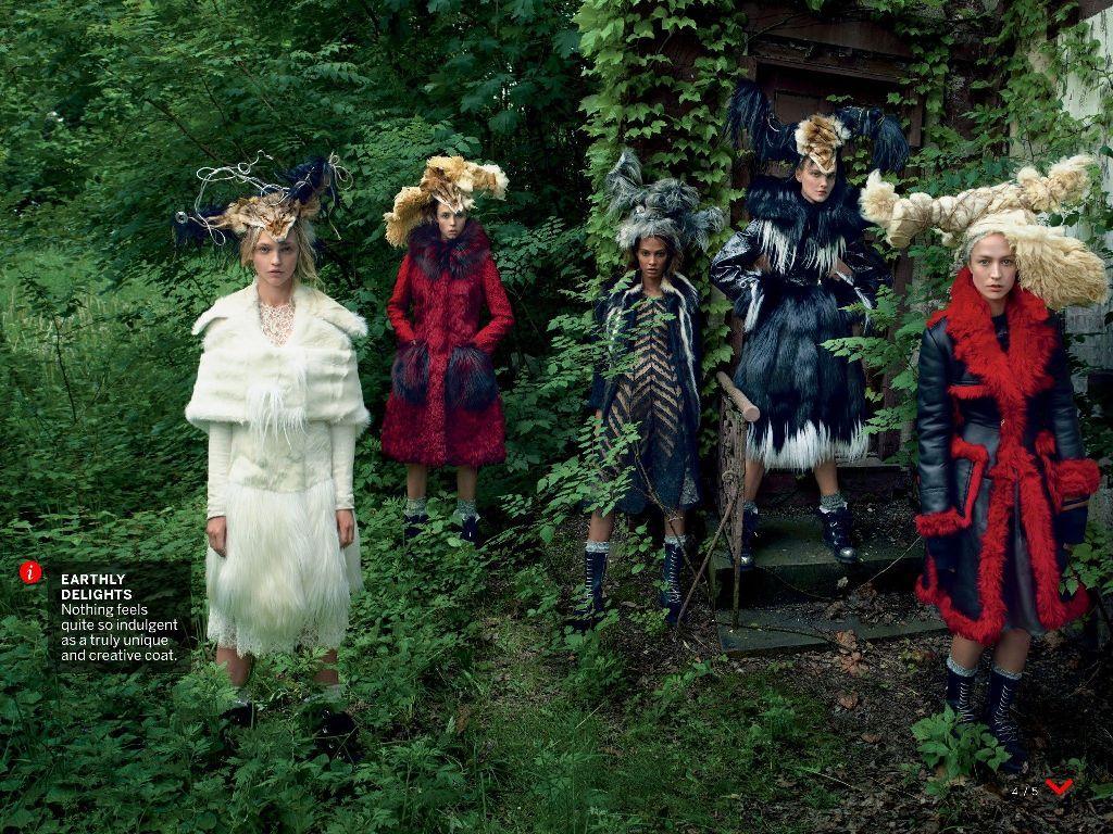 nice Vogue US Setembro 2014 | Raquel Zimmermann, Anna Ewers + Mais por Annie Leibovitz  [Updated]