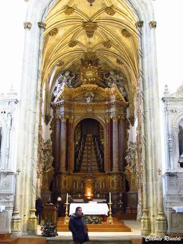 Interior do Mosteiro de Santa Cruz - Coimbra - Portugal