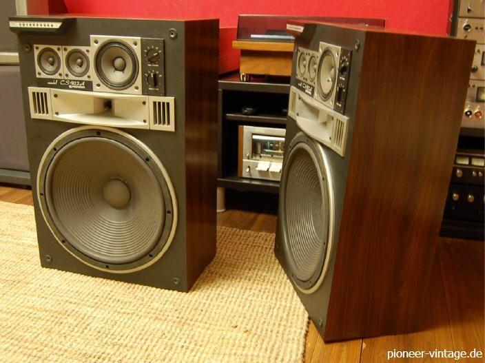 pioneer vintage hifi klassiker my professional speaker. Black Bedroom Furniture Sets. Home Design Ideas
