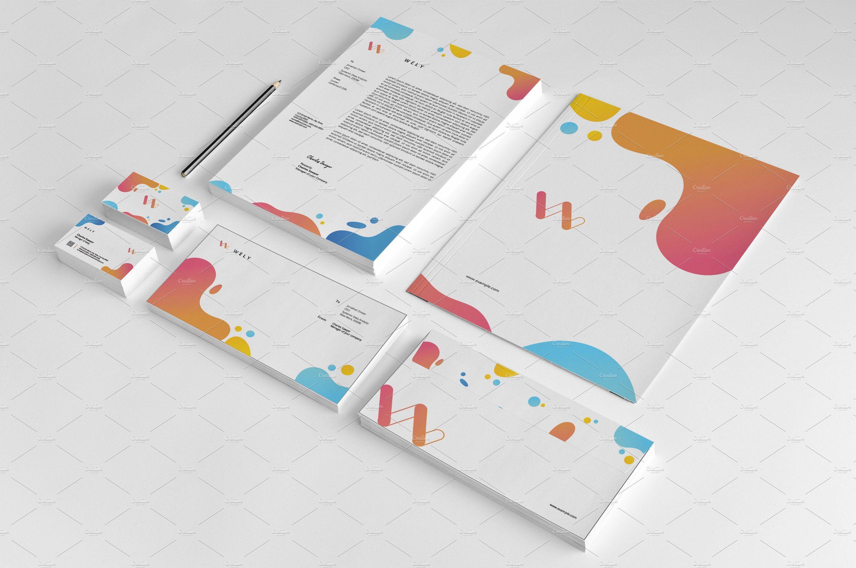 Corporate Identity V06 Desain