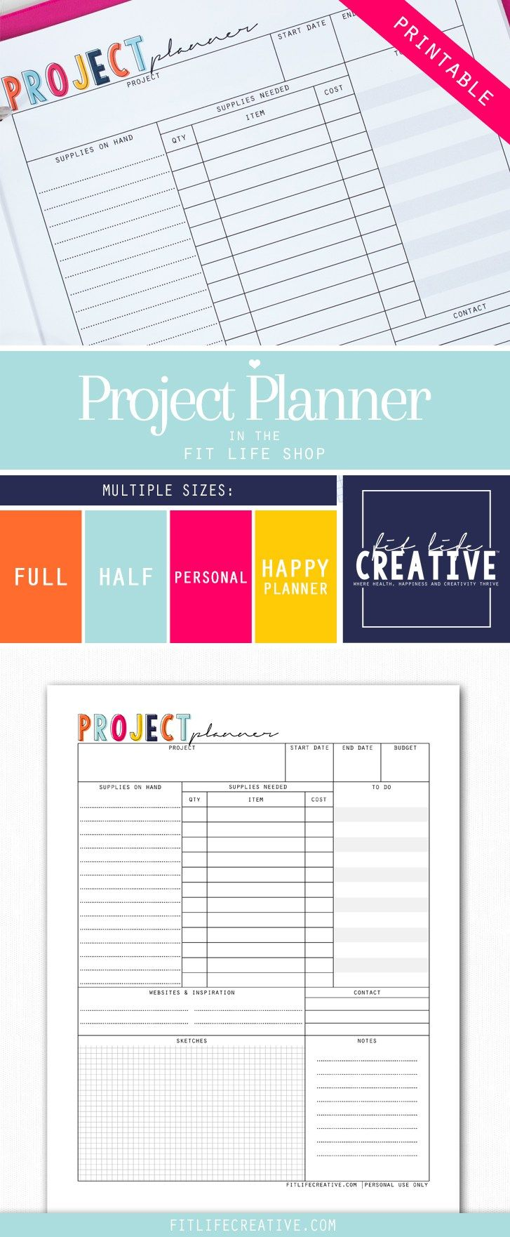 Printable project planner have a big project coming up no printable project planner have a big project coming up no problem with the printable madrichimfo Gallery
