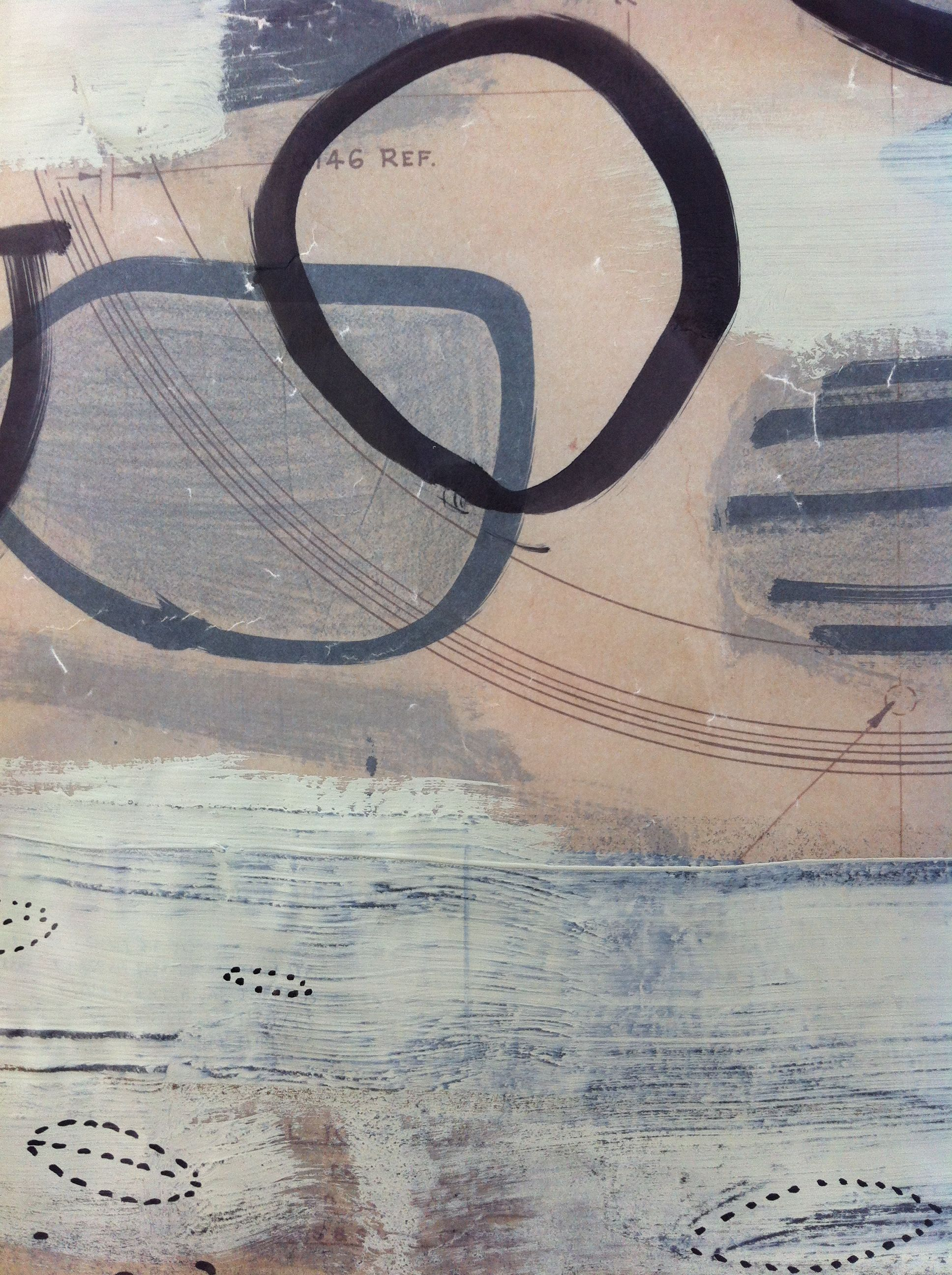 ink, drafting film and graphite  Lorna Crane
