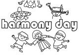 OurKidz Colouring: Harmony Day pictures to colour