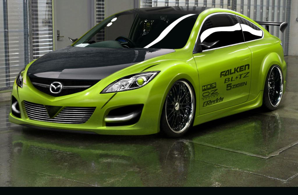 Green Mazda 6 Mps Mazda 6 Mazda 3 Sedan Mazda