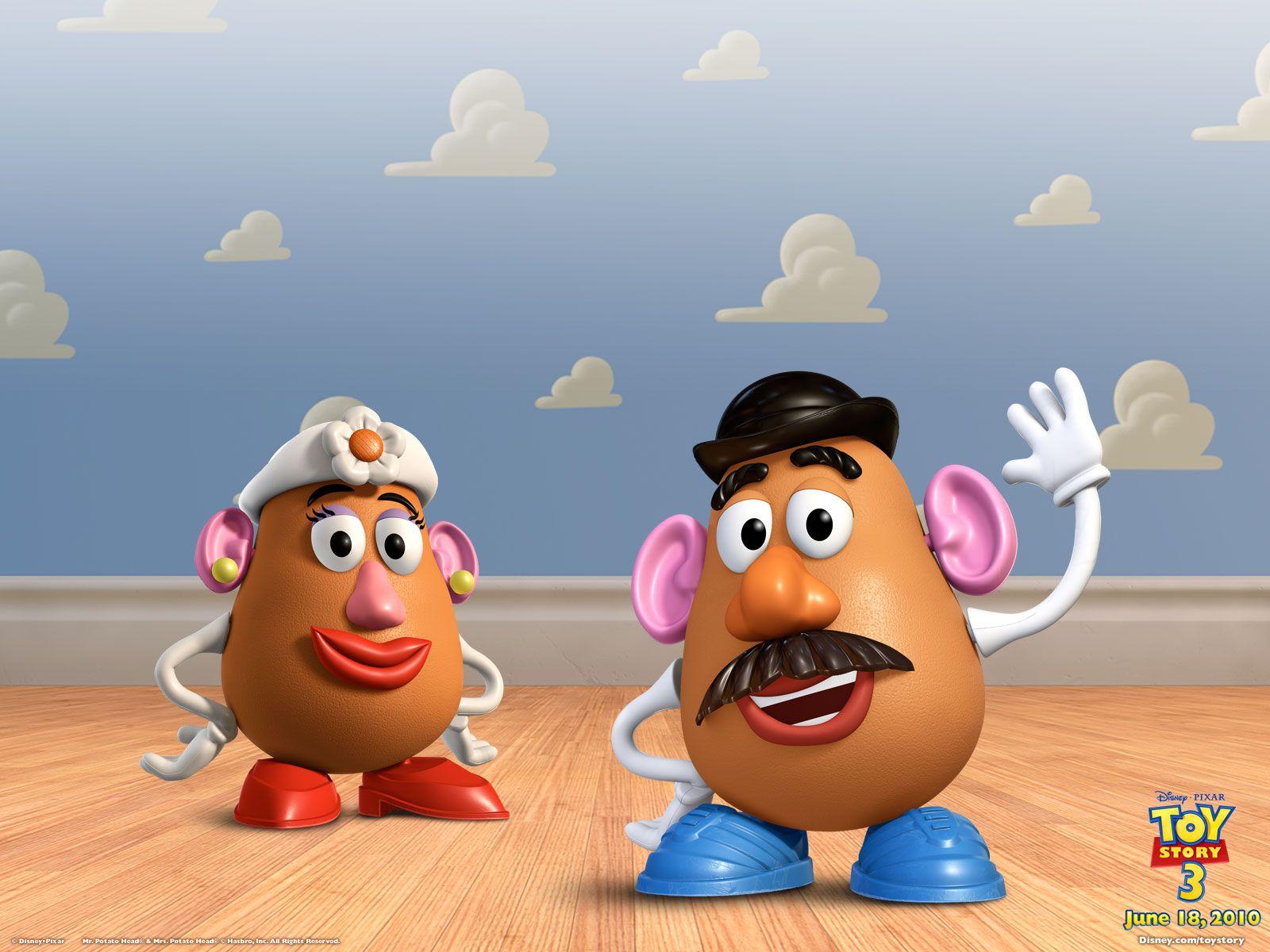 Hasbro Mr e Miss Potato Toy Story