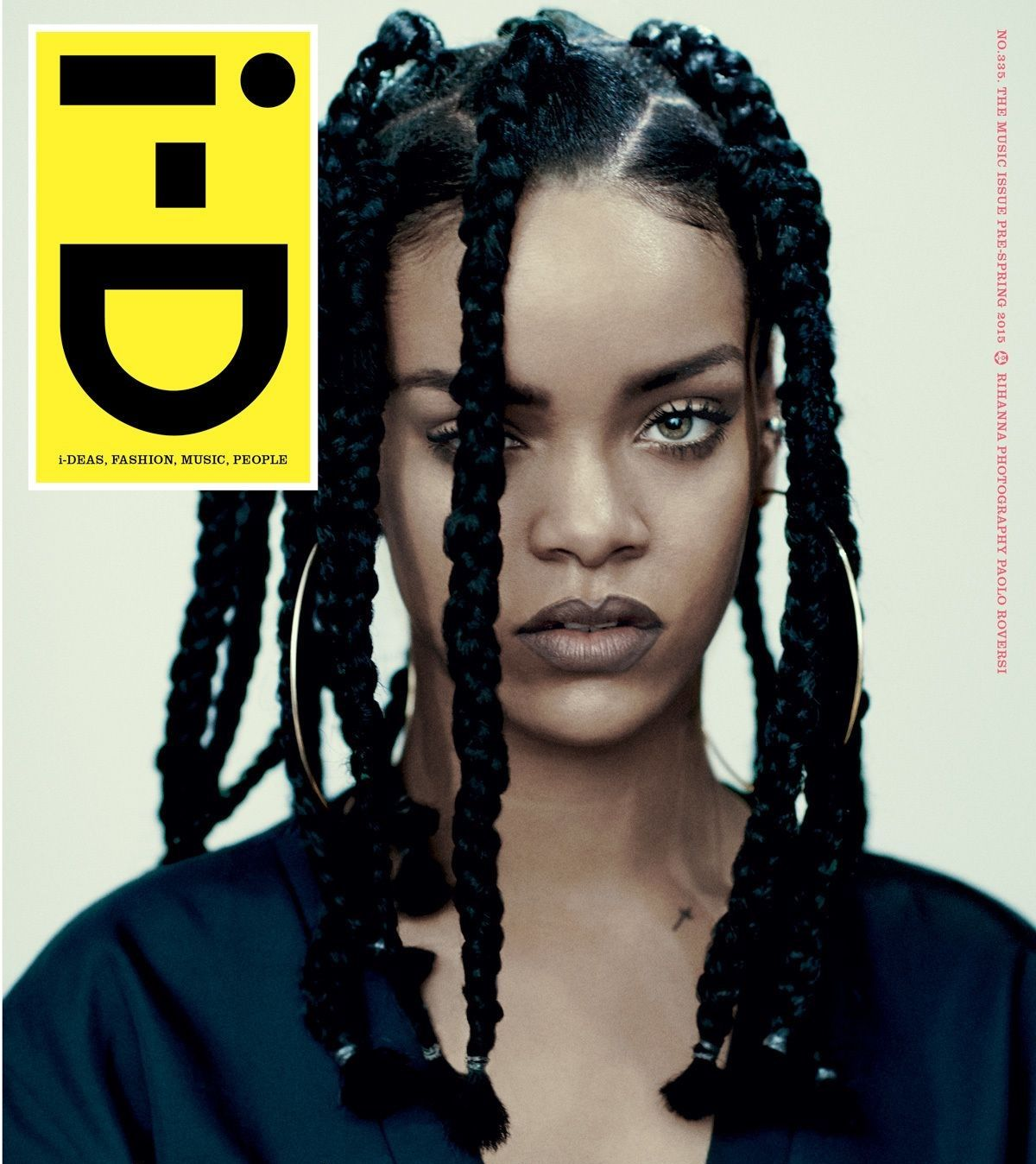 beautiful black women: rihanna pre-spring 2015 music issue of i-d