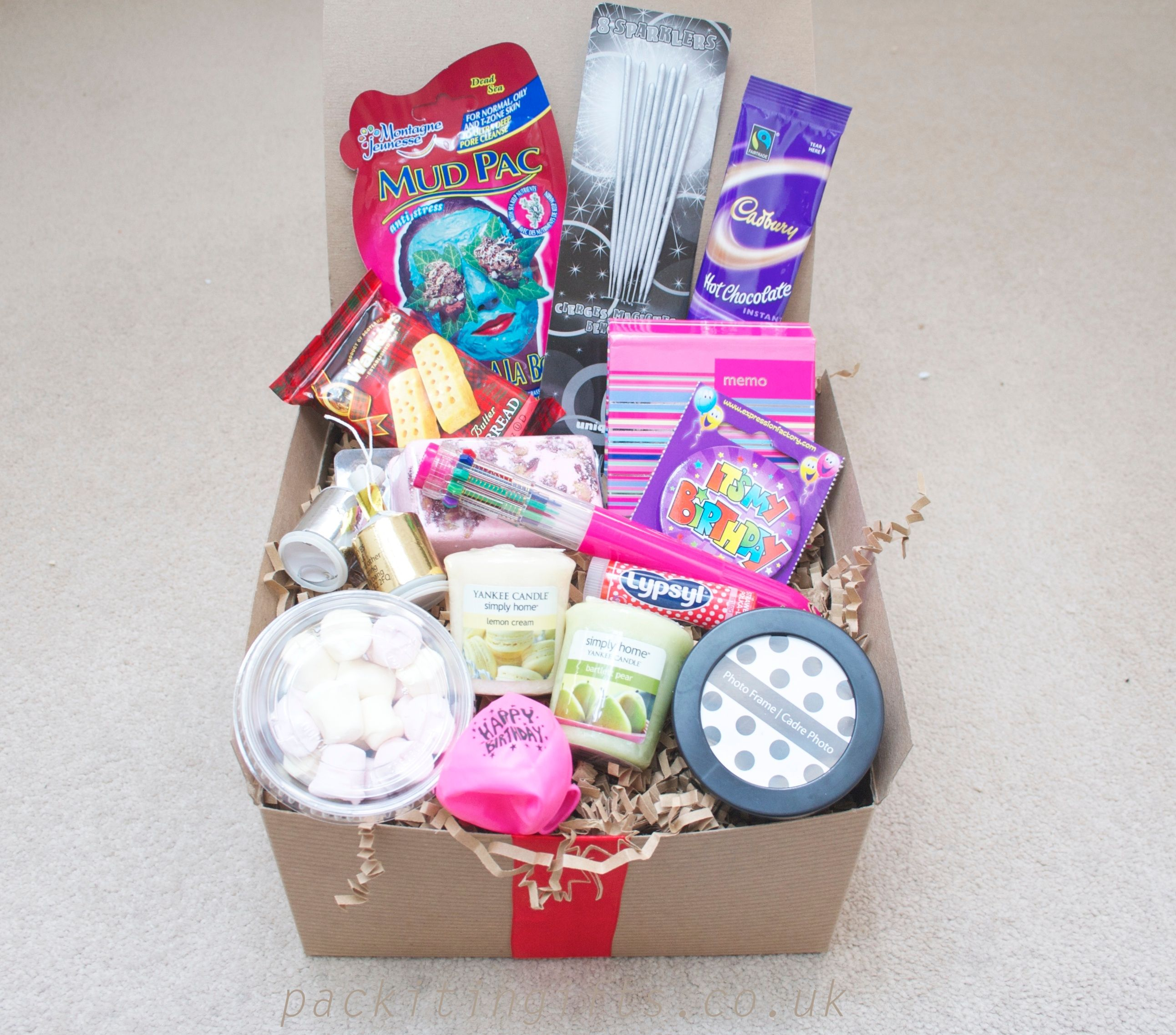 Happy Birthday For Her Awesome Filler Gift Box A Young Girl Girlfriend Daughter Friend Mum Nan