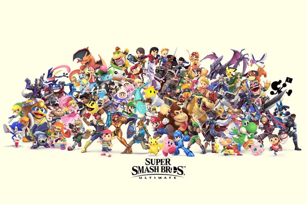 Super Smash Bros Ultimate Video Game Poster In 2021 Smash Bros Super Smash Bros Video Game Posters