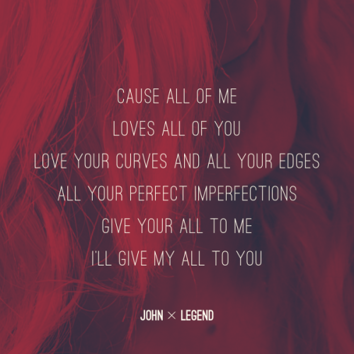 All Of Me John Legend Future Wedding Song