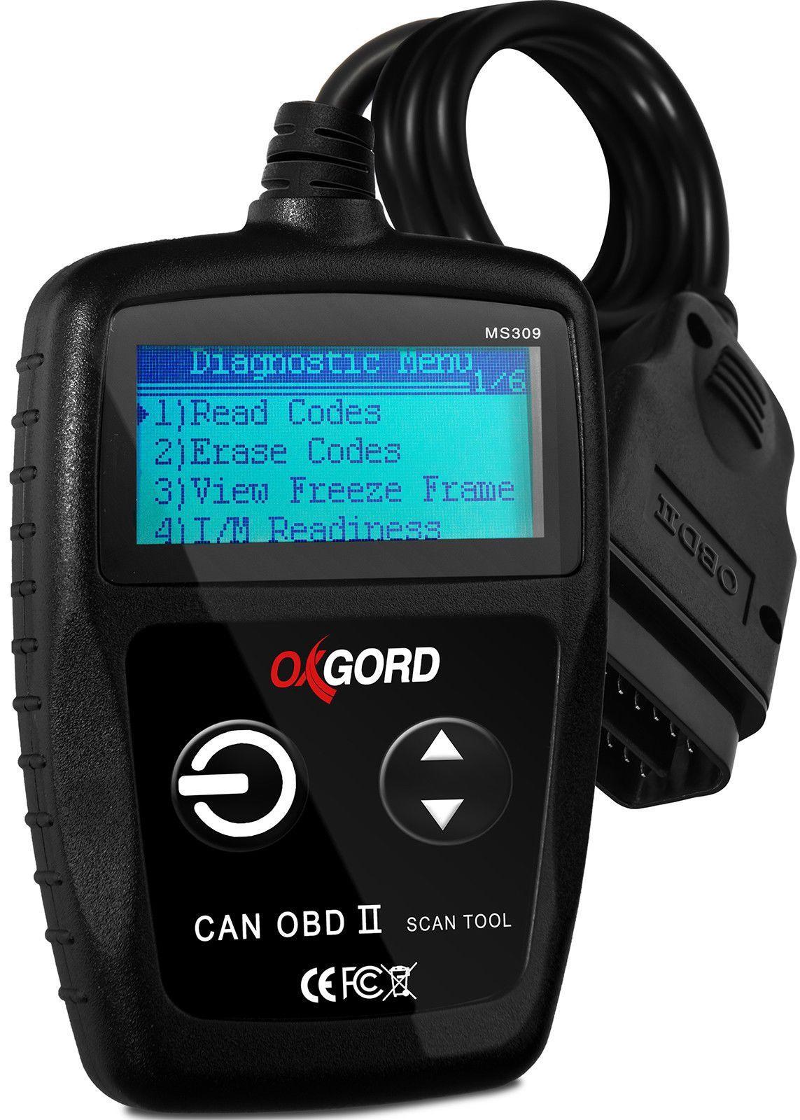 OBDII Scanner Code Reader CAN OxGord MS309 OBD2 Scan Tool