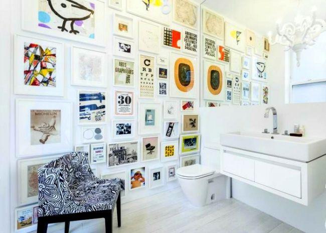 Badezimmer Wandgestaltung ~ Badezimmer wandgestaltung mit bildern wohnideen