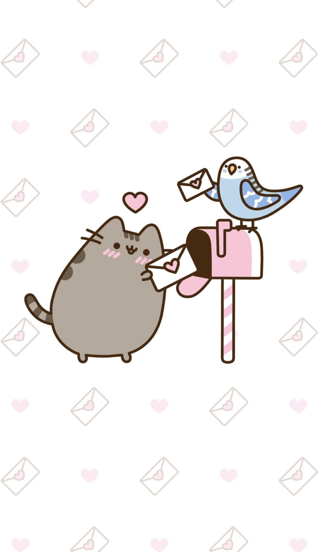 Valentine S Day Pusheen Wallpaper Pusheen Cute Pusheen Valentines Kawaii Valentine