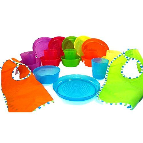 Bibs Plastic Plates Bowls and Cups in 6 Bright Colors Durable IKEA BPA Free Tableware and  sc 1 st  Pinterest & Bibs Plastic Plates Bowls and Cups in 6 Bright Colors Durable IKEA ...
