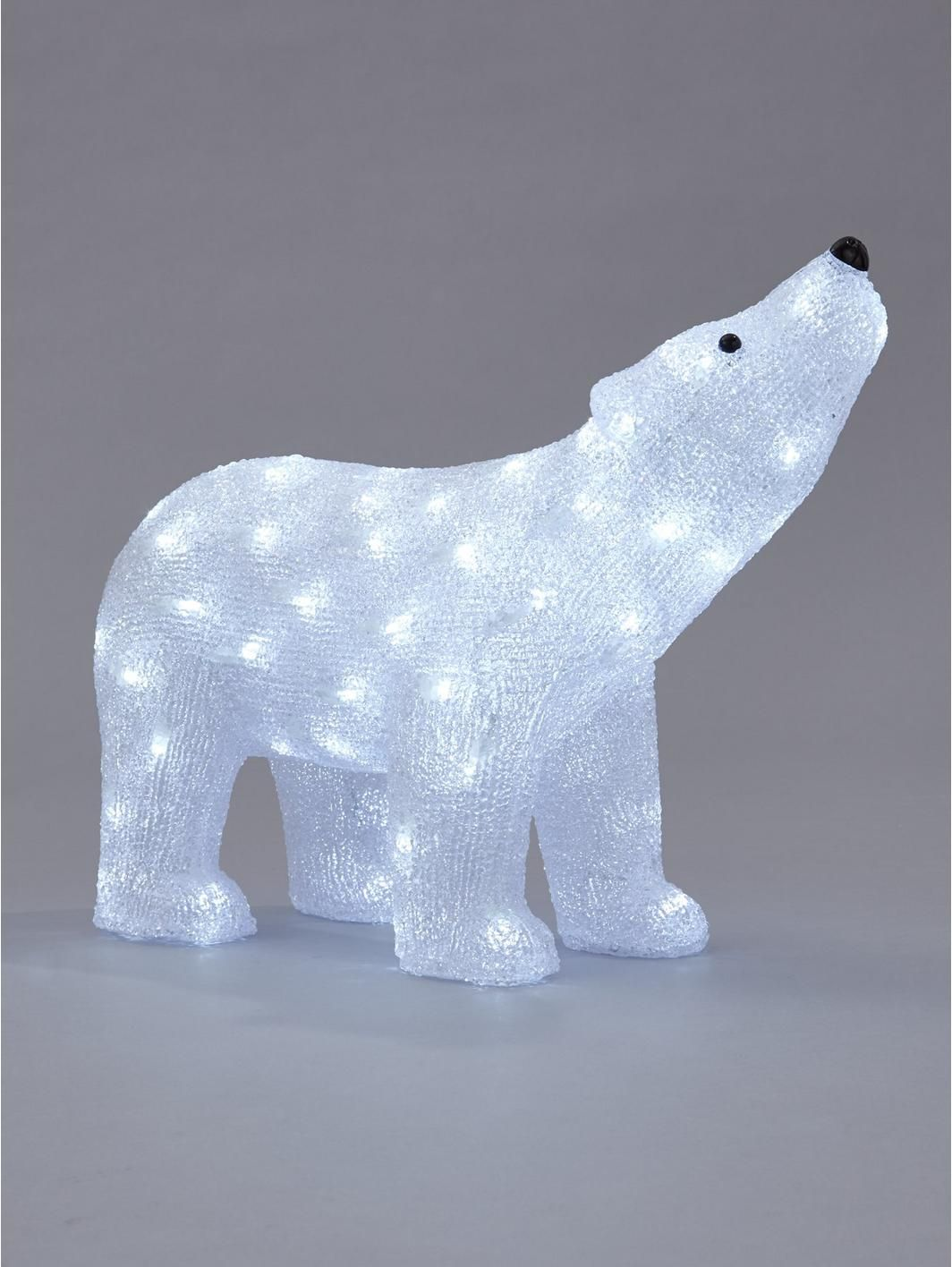 outdoor spun acrylic polar bear light httpswwwlittlewoodsirelandie