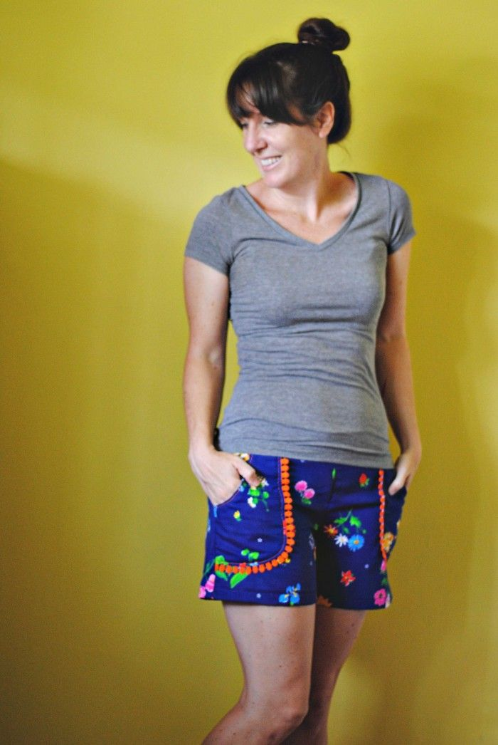 juba shorts tutorial: pockets with trim | Craft | Sewing ...