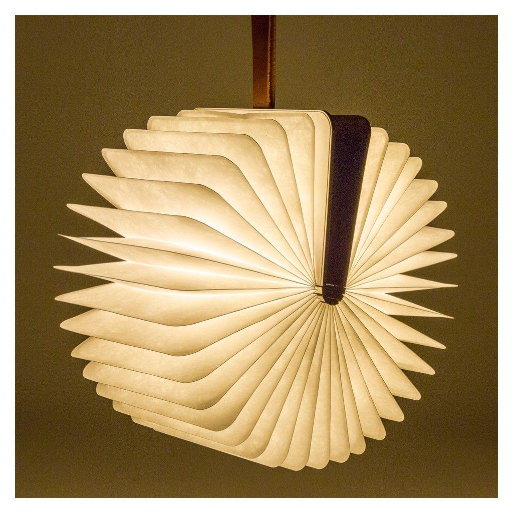 Lampe Livre Lumio Couverture En Noyer Fonce For The Home
