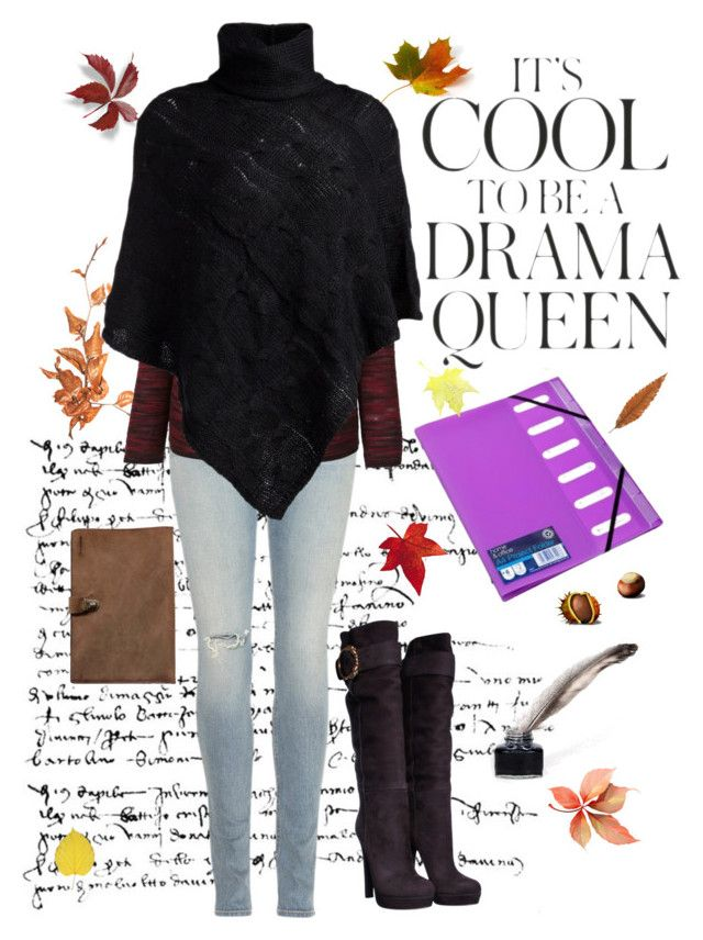"""Final drama exam!"" by amygreene-1 ❤ liked on Polyvore featuring rag & bone, Isabel Marant, Gucci, Kjøre Project, Emma Watson and Pieces"