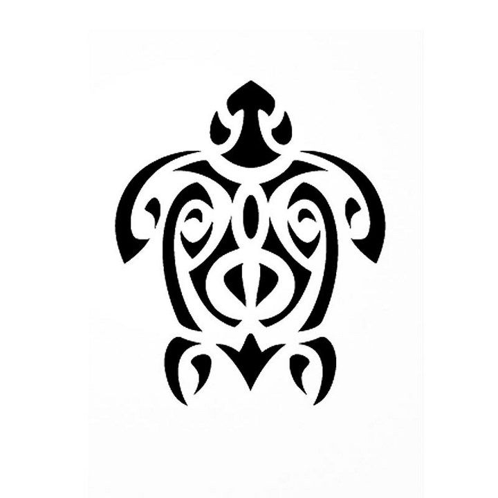 Tatouage tortue motif tatoo pinterest tatouage pochoirs tatouage et tortue tatouage - Dessins tortue ...