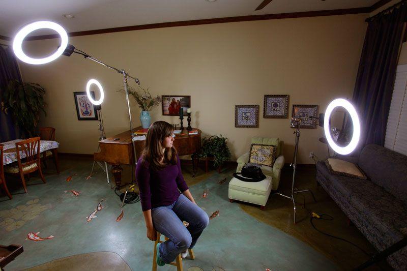 The Stellar Lighting Diva Ring Light for Inteview Shot & The Stellar Lighting Diva Ring Light for Inteview Shot ... azcodes.com