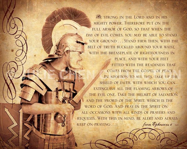 Ephesians 6:10-18 - King James Version (KJV) - Whole ...