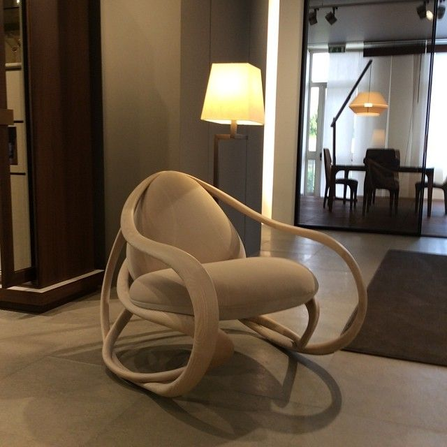 Giorgetti rocking chair
