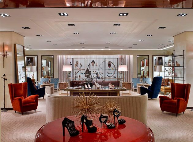 Bergdorf goodman women 39 s shoe salon department store in 2019 store department store store - Bergdorf goodman shoe salon ...