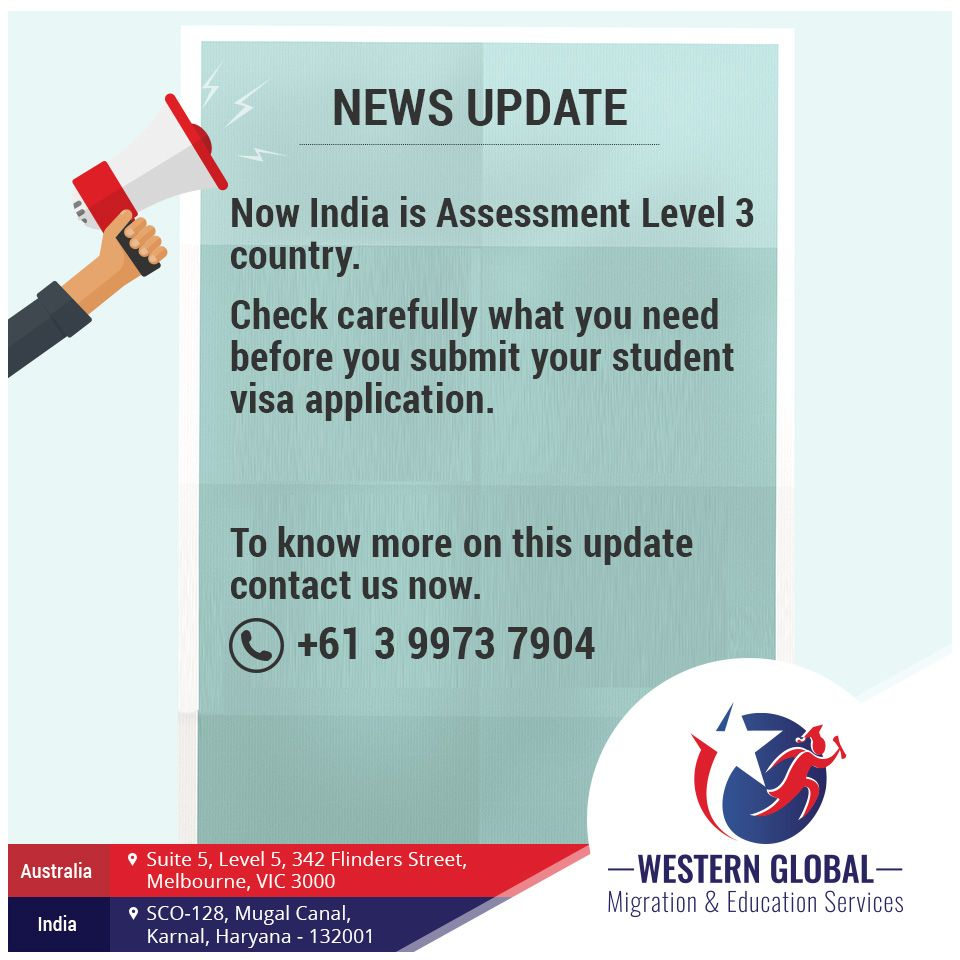 Recent Update Australia Downgrades India S Assessment Level From