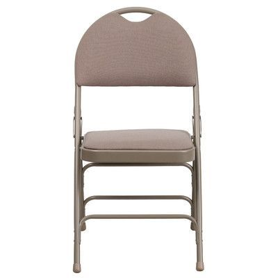 Flash Furniture Hercules Series Personalized Folding Chair with Easy-Carry Handle Color: