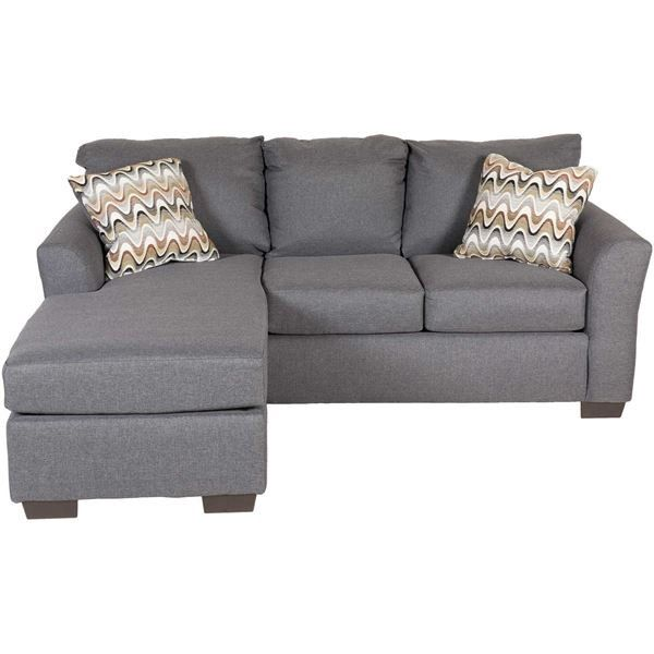 Ryleigh Grey Sofa With Chaise Affordable Couch Gray Sofa