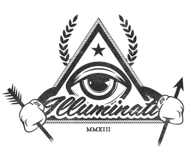 Risultati immagini per illuminati logo vector