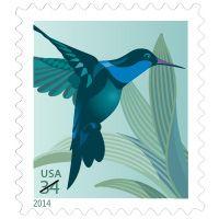 Hummingbird 34¢