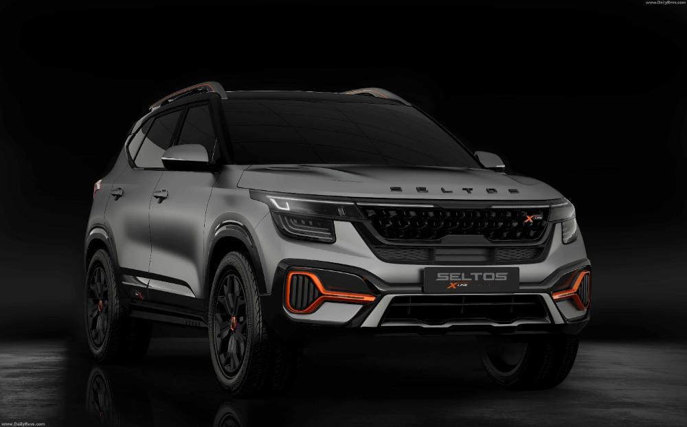 2020 Kia Seltos X Line Dailyrevs Com In 2020 Kia Luxury Car Interior Kia Motors
